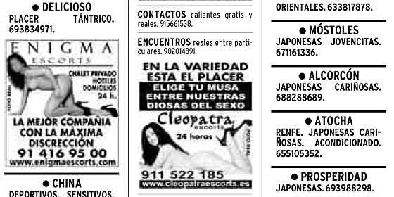 Anúncios Contatos Canárias 7-4738