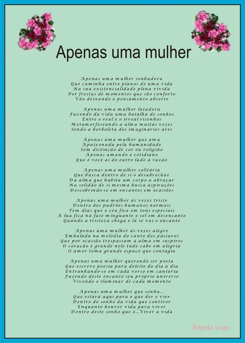 Procura Uma Menina Poema-4657